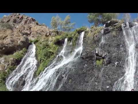 Водопад Шаке Waterfall Shake Շաքեի ջրվեժը