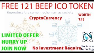 Free 121Crypto Token | BEEPNOW | Get 121 Tokens Now - Worth 15$ - Upcoming Crypto Currency
