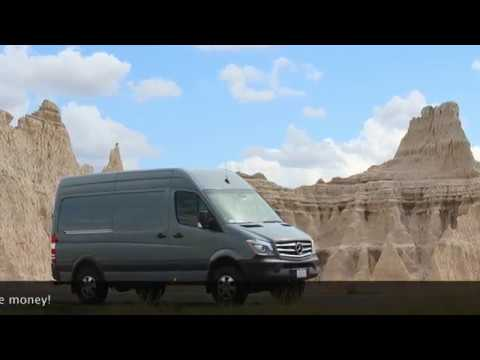 self build camper new Mercedes 4x4 sprinter with bunk beds and rear bathroom