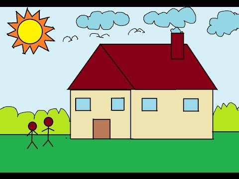 basic ms paint for children - Basic Drawings For Kids