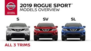 homepage tile video photo for All 2019 Nissan Rogue Sport Models Explained