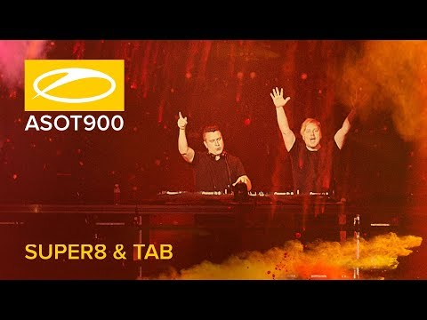 Super8 & Tab Live At A State Of Trance 900 (Madrid - Spain)