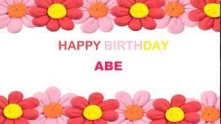 Abe   Birthday Postcards & Postales - Happy Birthday