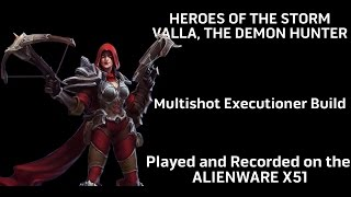 Heroes of the Storm - Hero Guide: Valla, The Multishot Executioner Build on Alienware X51