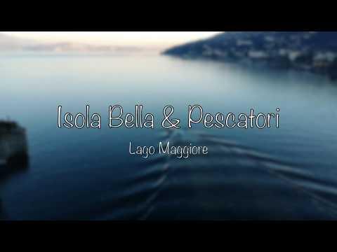 Isola Bella & Pescatori In Italy - DJI Spark Drone