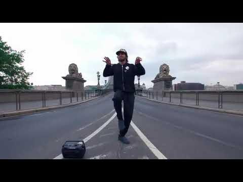 Adam Sevani dancing Budapest, Hungary