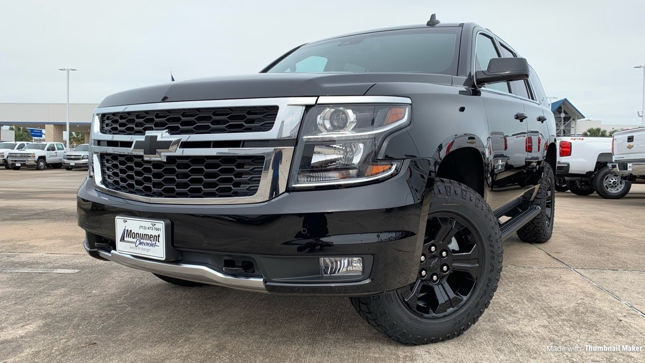 2018 chevy tahoe z71 midnight edition for sale