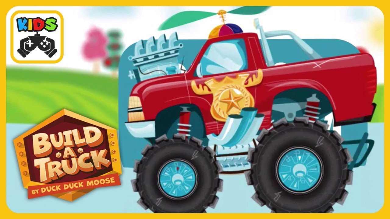 Build A Truck >> Build A Trucks And Cars Fun Race Kids Game By Duck Duck Moose