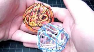 ► Decorative Accent Balls - Craft Tutorial 5 (Recycling Embroidery Floss/Craft Thread)