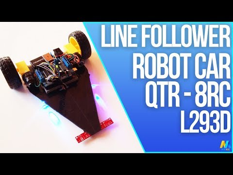 Line Follower Application for Arduino Robot