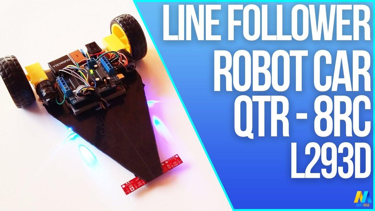 Line follower following arduino car with source code