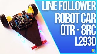 Arduino Project -  Line Follower | Following Robot with Source Code