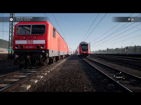TSW Shunting with DB BR 143 |