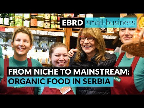 How one woman transformed a Serbian organic food supplier