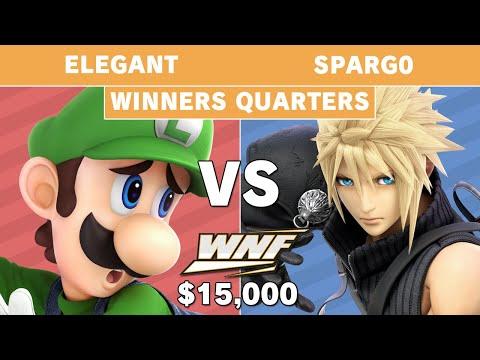 WNF 2.6 $15K -  Elegant (Luigi) vs Sparg0 (Cloud) - Winners Quarters - Smash Ultimate