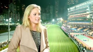 A random conversation with Hannah Butler, girlfriend of jockey Chad Schofield...