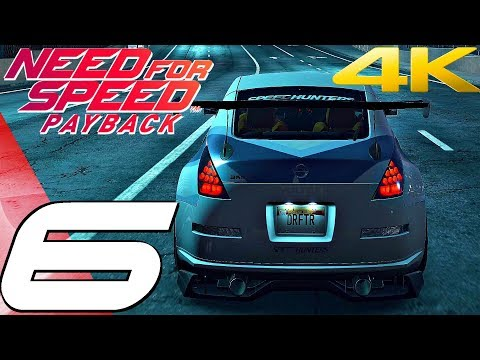 Need For Speed Payback - Gameplay Walkthrough Part 6 - Shift Lock Drifting [4K 60FPS ULTRA]