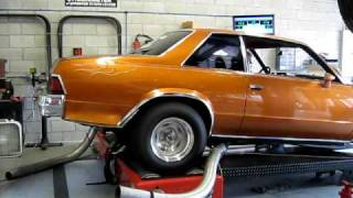 STRIPS RACING 1978 MALIBU RACE CAR DYNO TEST