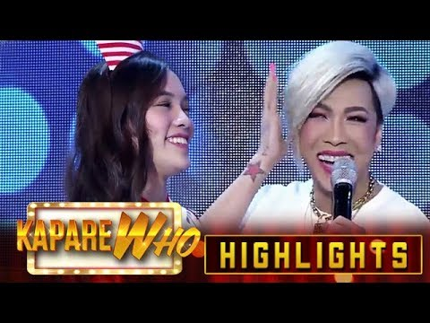 Ate Girl Jackque compliments Vice's hairstyle | It's Showtime KapareWho
