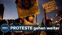 US-RASSISMUS-DEBATTE: Wie aus gewalttätigen Protesten eine friedliche Bürgerbewegung wird