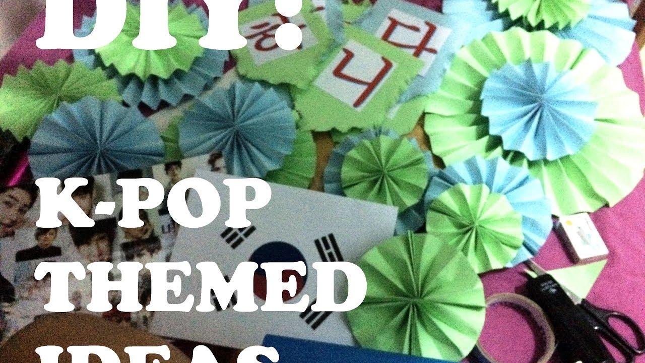 Diy Korean Themed Decoration Ideas Youtube