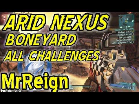 arid nexus boneyard challenges