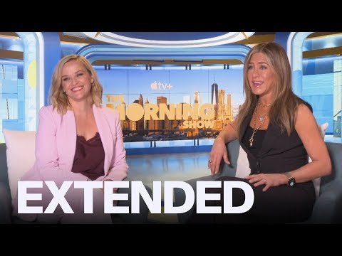 Jennifer Aniston, Reese Witherspoon On Reuniting For 'The Morning Show' | EXTENDED