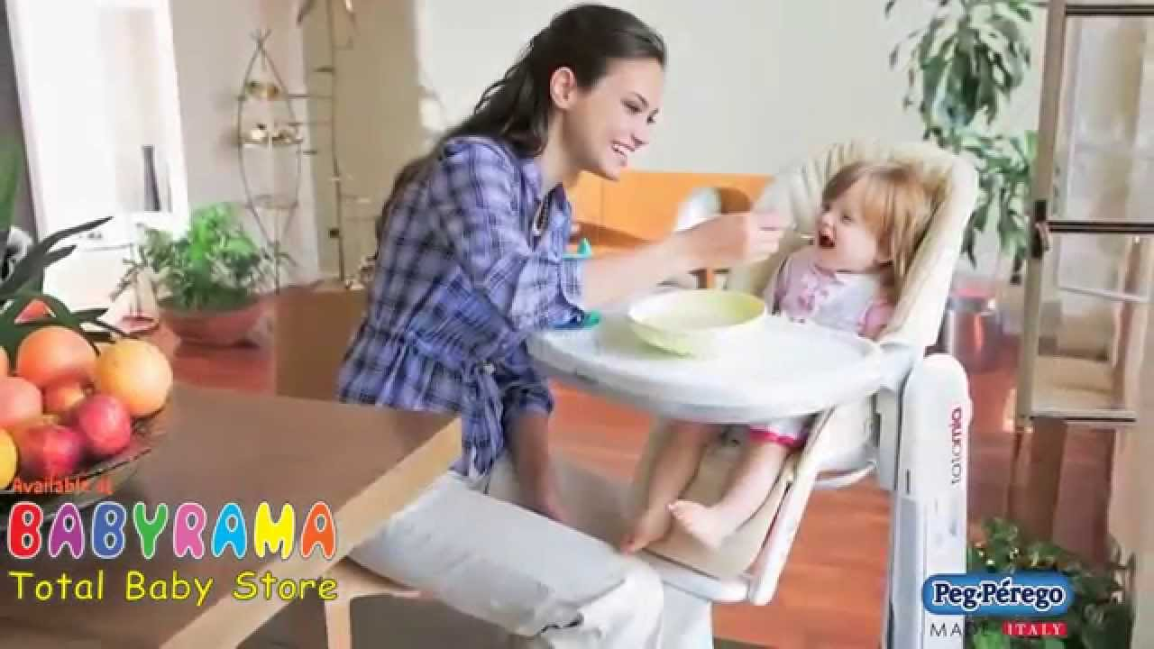 peg perego tatamia high chair hanging replacement cushion swing recliner youtube
