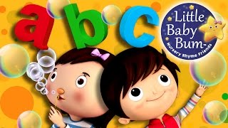 ABC Song | Bubbles Song | Nursery Rhymes | Original Song by LittleBabyBum