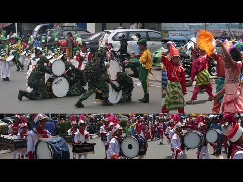Drumband & Fashion Road SD Kota Pontianak 2014 [FULL]