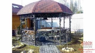 видео кованые ворота в Челябинске