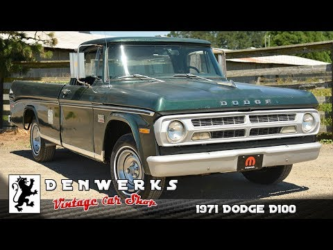 1971 Dodge D100 Adventurer Denwerks/Bring A Trailer NO RESERVE