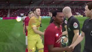 Смотреть видео FIFA 19 карьера за Спартак Москва в чемпионате Англии #2 онлайн