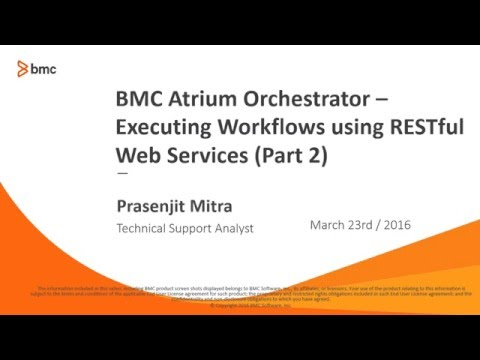 BAO: Executing Workflows using RESTful Web Services - Part 2