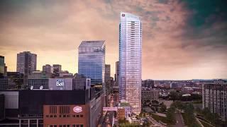 New skyscraper in Montreal, Canada - Tour des Canadiens 2   Nouveau gratte-ciel à Montréal, Canada
