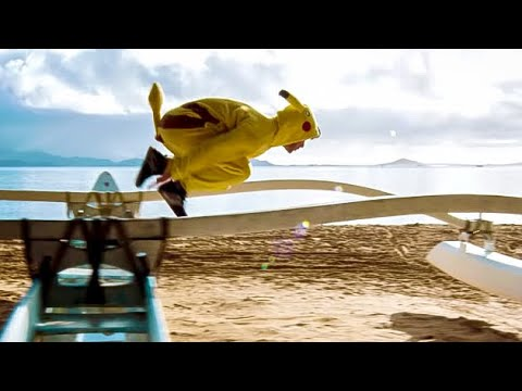 Pokémon GO Parkour!  The Death of Pikachu?