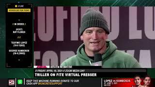 Evander Holyfield vs Kevin McBride Triller Kick Off Press Conference