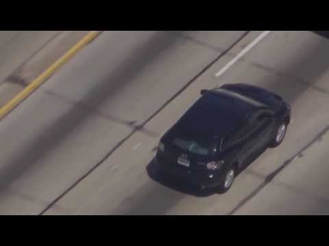 Los Angeles Pursuit High Speed Police Chase - June 30, 2017
