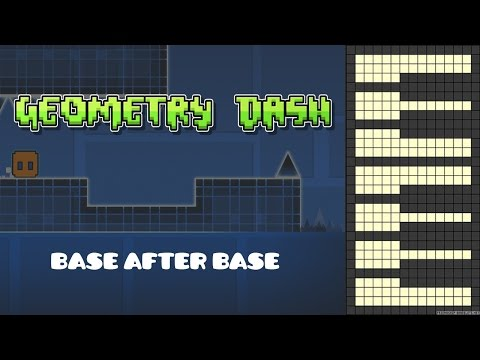 Geometry Dash - Base After Base [Piano Cover]