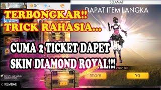 Hanya 2 ticket dapat bundle diamond royal? Pakai trik ini | Free fire indonesia