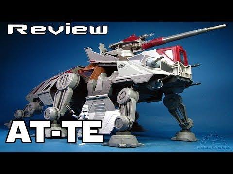 Review AT-TE Hasbro - Star wars Clone Wars