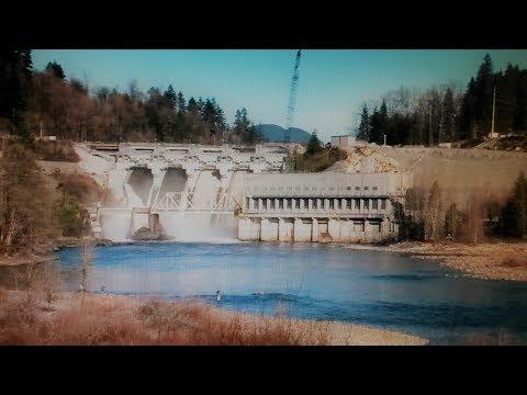 Mission BC-old dewdney power dam