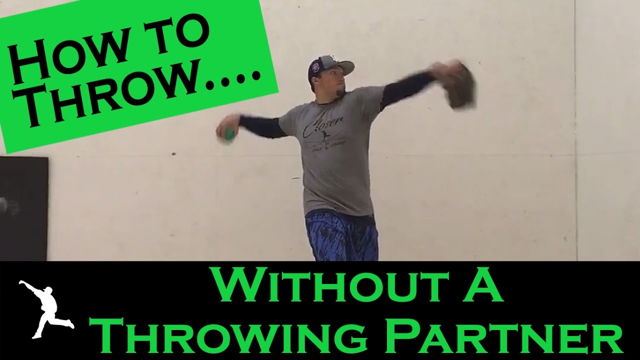 how to throw without a throwing partner
