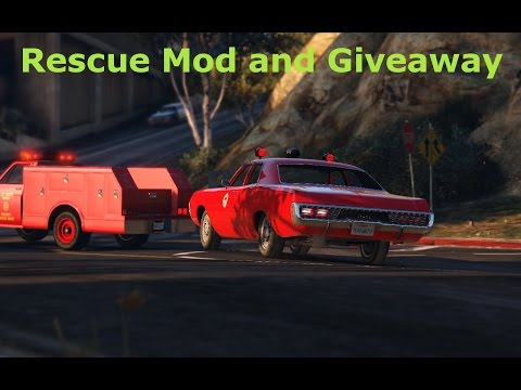 Rescue Mod and GIVEAWAY announcement.
