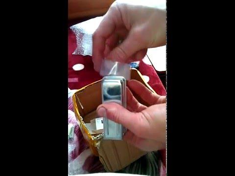 распаковка Vertu ti titanium мини