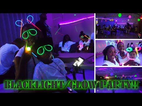 VLOG#6 | EPIC BLACKLIGHT/GLOW PARTY FROM START TO FINISH...DIY'S & MORE!!