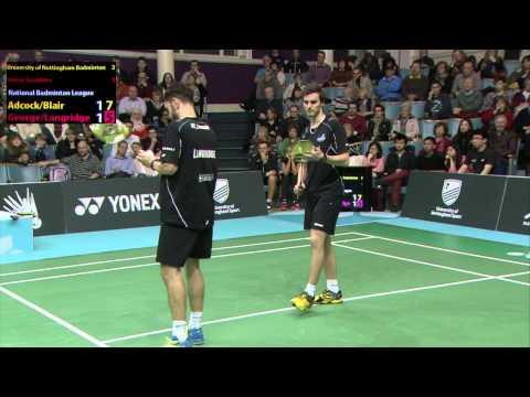 NBL Match-night 5 - University of Nottingham Badminton v Surrey Smashers (PART 2)