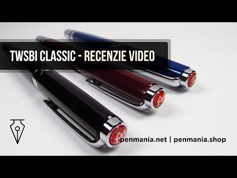 Stiloul TWSBI Classic - Recenzie si lansare oficiala