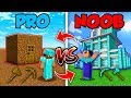 Minecraft NOOB vs PRO : SWAPPED LIFE in Minecraft (Animation)