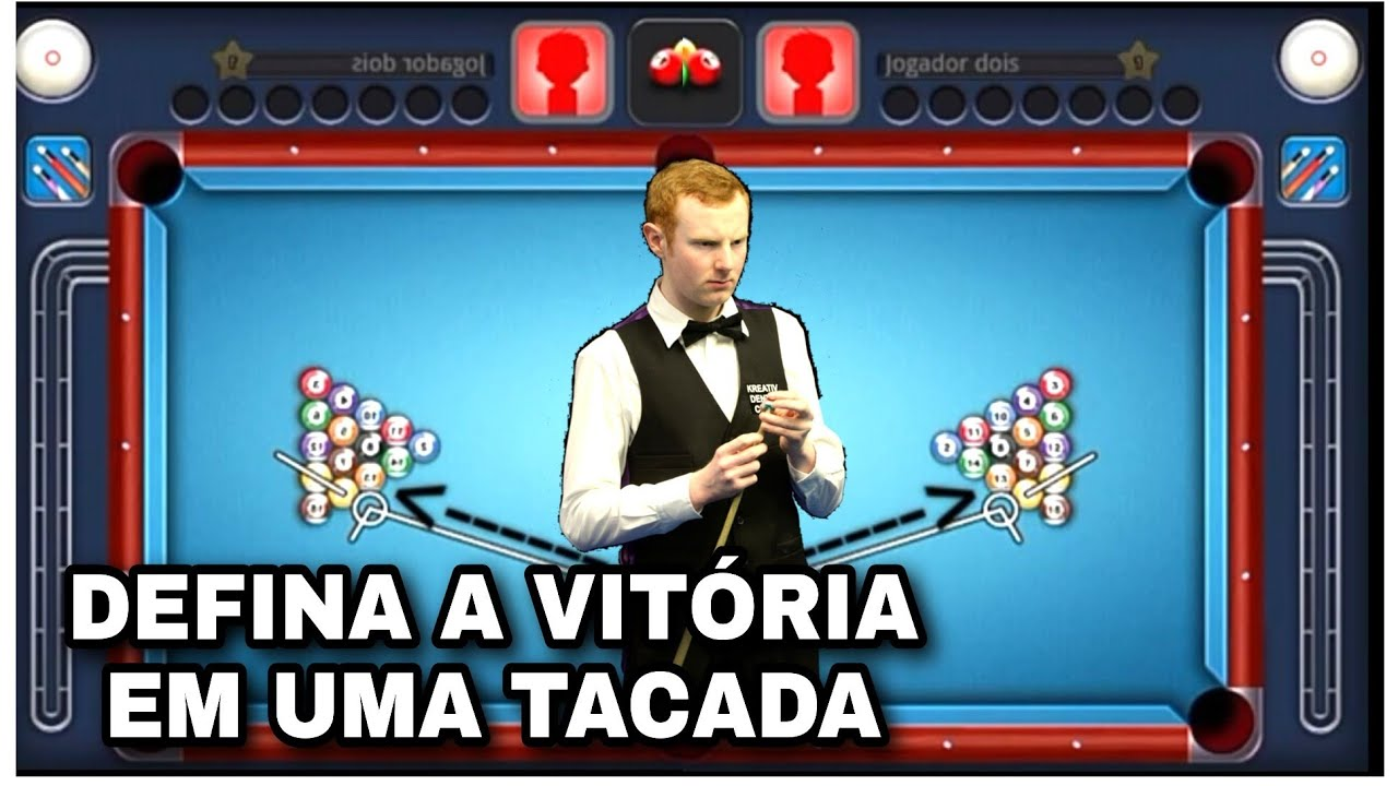 APRENDA A DAR A TACADA MAIS IMPORTANTE DO JOGO!! A TACADA INICIAL!! 8 Ball pool